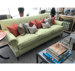 William IV Fixed Back 3 Seat Sofa