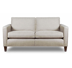 Contemporary 2.5 Seater Sofa in fabric by Christian Fischbacher