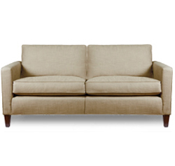Contemporary 3 Seater Sofa in fabric by Romo