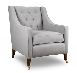Georgian Chair, Buttoned Back