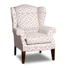 Wing Chair, Tapered Leg
